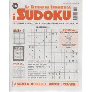 La settimana enigmistica - I sudoku - n. 1 - 26 luglio 2018 - settimanale