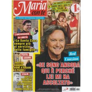 Maria Con Te  - n. 12 - 29 luglio 2018 - settimanale