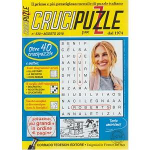 Crucipuzzle - n. 530 - agosto 2018 - mensile