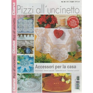 Diana Pizzi All'uncinetto - n. 62 - bimestrale - 26/7/2018