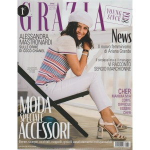 Grazia* - n. 32 - settimanale - 26/7/2018