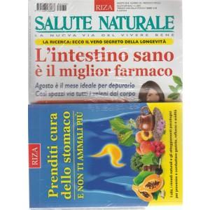 """Salute Naturale  - n. 232 - agosto 2018 - mensile - + il libro """"prenditi cura del tuo stomaco"""""""