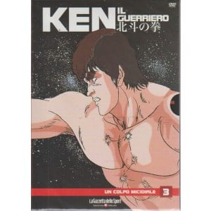Ken Il Guerriero Dvd - Un Colpo Micidiale - n. 3 - settimanale -