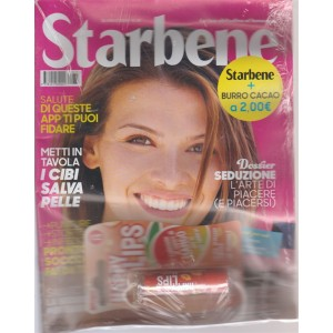 Starbene - n. 33 - 31 luglio 2018 - settimanale + burro cacao