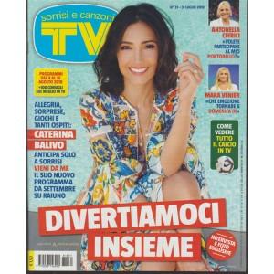 Sorrisi E Canzoni Tv -  n. 31 - 31 luglio 2018 - settimanale