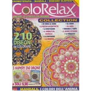 Color Relax Anthology Mega - n.3 - bimestrale - riedizione - agosto - settembre 2018 - 3 numeri 240 pagine