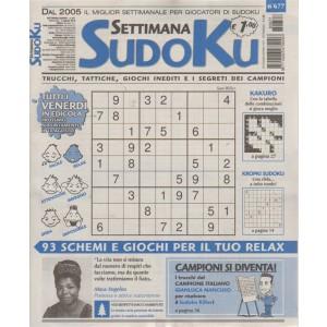 Settimana Sudoku - n. 677 - settimanale - 3 agosto 2018 - tutti i venerdì in edicola