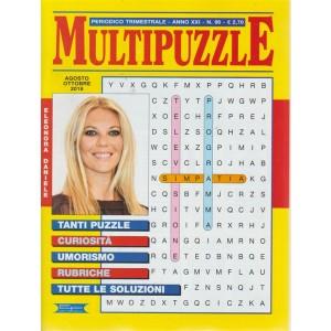 Multipuzzle - n. 96 - trimestrale - agosto - ottobre 2018 - Eleonora Daniele