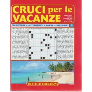 Cruci Per Le Vacanze - n. 111 - trimestrale - agosto - ottobre 2018 -