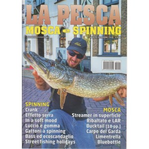 Pesca Mosca E Spinning - n. 4 - agosto - settembre 2018 -