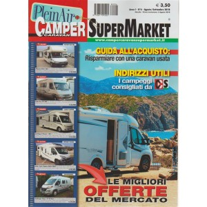Camper E Caravan Supermarket - agosto/settembre 2018 - n. 6 - mensile