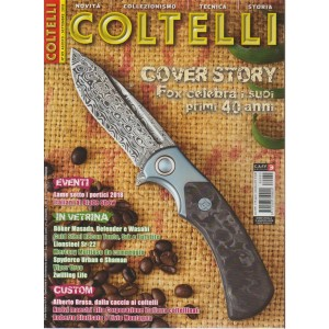 Coltelli - n. 89 - agosto - settembre 2018 - bimestrale