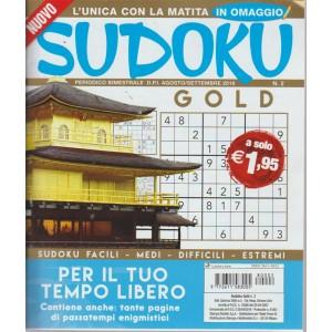 Sudoku   Gold- n. 2 - bimestrale - agosto - settembre 2018 -