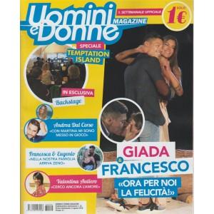 Uomini e Donne magazine - n. 22 - settimanale - 3 agosto 2018
