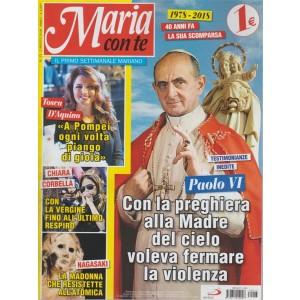 Maria Con Te -  n. 13 - 5 agosto 2018 - settimanale
