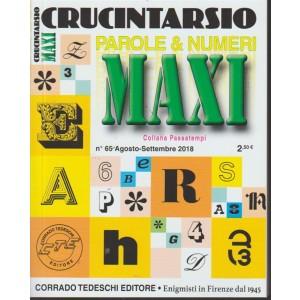 Maxi Crucintarsio -n. 65 - agosto - settembre 2018 - trimestrale -
