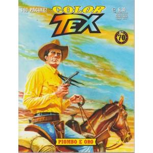 Tex Color - Piombo E Oro - n. 13 - agosto 2018 - semestrale - 160 pagine!