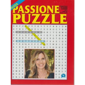 Passione puzzle - n. 46 - trimestrale - settembre - novembre 2018