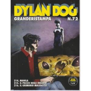 Dylan Dog Granderistampa n. 72 - agosto 2018 - bimestrale - 292 pagine!