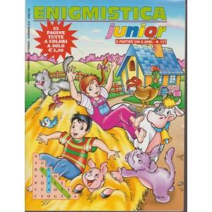 Enigmistica Junior -n. 117 - trimestrale - settembre - novembre 2018 - 52 pagine tutte a colori