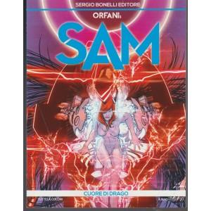 Orfani: SAM - mensile n. 8 febbraio 2018 Cuore di Drago - sergio Bonelli editore