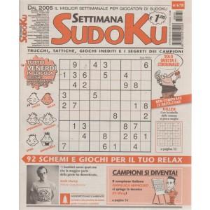 Settimana Sudoku - n. 678 - settimanale - 10 agosto 2018 - tutti i venerdì in edicola