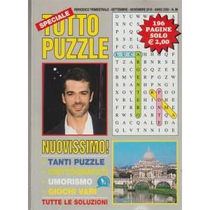 Speciale Tutto Puzzle - trimestrale n.88 - Settembre 2018 Luca Argentero