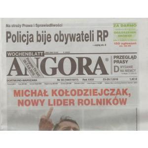 Angora - settimanale in lingua polacca n. 30 - 23 Luglio 2018