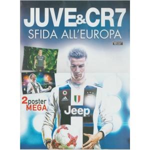 Juve & CR7: sfida all'Europa - 2 poster mega cm 70 x 100