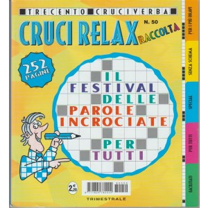 Raccolta Crucirelax - trimestrale n. 50