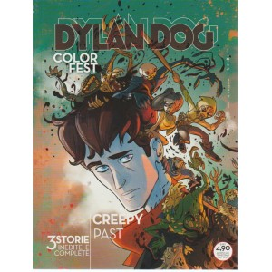 Dylan Dog Color Fest - Creepy Past - n. 26 - 9 agosto 2018 - trimestrale