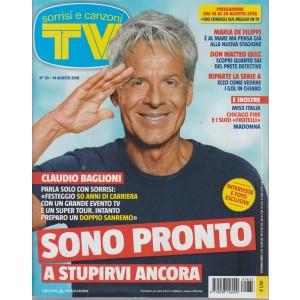 Sorrisi E Canzoni Tv - n. 33 - 14 agosto 2018 - settimanale