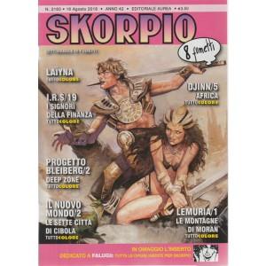 Skorpio - n. 2163 - 16 agosto 2018 - settimanale di fumetti