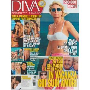 Diva E Donna  - n. 33 - 21 agosto 2018 - settimanale femminile