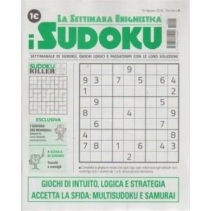 La settimana enigmistica - I sudoku - n 4 - 15 agosto 2018 - settimanale