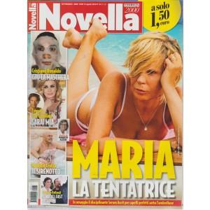 Novella 2000 - n. 34 - settimanale - 15 agosto 2018 -