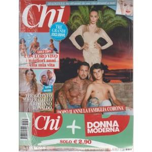 Chi+Donna Moderna -  - n. 34 - settimanale - 15 agosto 2018  - 2 riviste