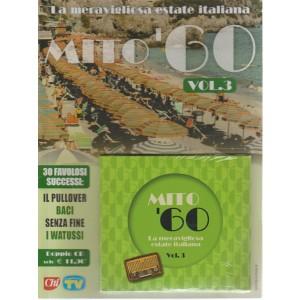 La meravigliosa estate italiana mito '60 volume 3 - doppio CD - settimanale - 14/8/2018 -