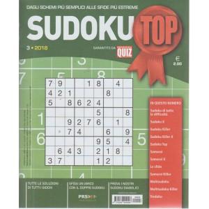 Sudoku Top - n. 3 - trimestrale - agosto - ottobre 2018 -