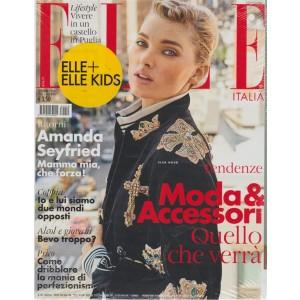 Elle + elle kids - n. 9 - settembre 2018 - mensile - 2 riviste