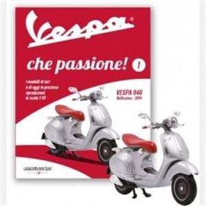 """""""Vespa che passione""""- Modellino n. 1  Vespa 946 """"Bellissima""""- scala 1:18"""