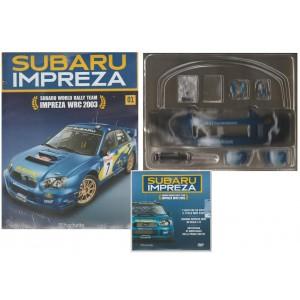 Costruisci Subaru Impreza WRC - 1° uscita - scala 1:8 by Hachette