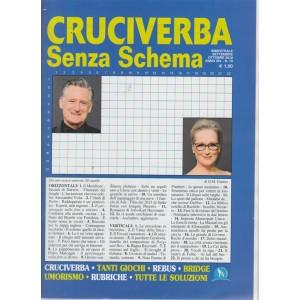 Cruciverba senza schema - n. 79 - bimestrale - settembre - ottobre 2018