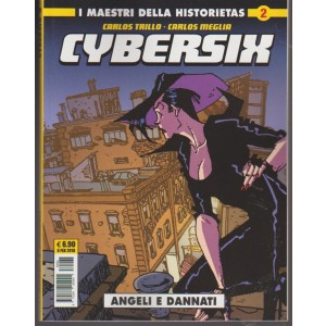 """Cosmo Serie Gialla - Cybersix n. 2 """" Angeli e dannati """" edtoriale cosmo"""