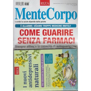 Mentecorpo - Guarire Senz.Farmaci - n. 135 - settembre - ottobre 2018 - bimestrale  - rivista + libro   I nuovi antidepressivi naturali