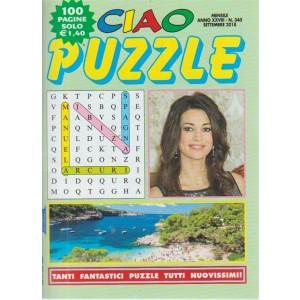 Ciao Puzzle - n. 340 - mensile - settembre 2018 - 100 pagine