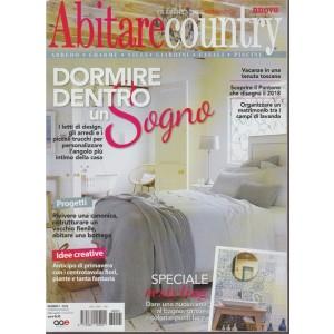 Abitare Country - bimestrale n. 1 Febbraio 2018 idee per la casa romantica