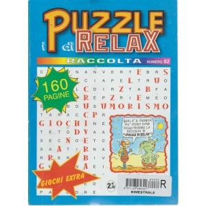 Racccolta i Puzzle di Relax - n. 82 - bimestrale - 160 pagine