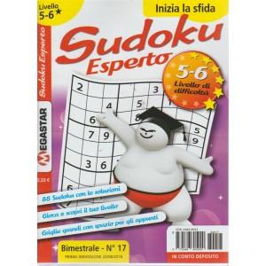Sudoku Esperto - Liv.5-6 - n. 17 - bimestrale - agosto 2018 -