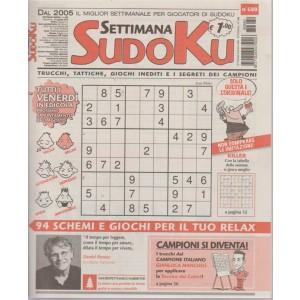 Settimana sudoku - n. 680 - settimanale - 24 agosto 2018 -  tutti i venerdi in edicola